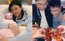 """Mặc Ming Xi ở nhà ôm con, cậu ấm sòng bạc Macau ra nước ngoài uống rượu, """"quẩy"""" thả ga với nhóm bạn ăn chơi"""