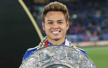 Cầu thủ Thái Lan đá hỏng penalty trên sân Mỹ Đình hôm 19/11 vừa ghi bàn giúp Yokohama vô địch quốc gia Nhật Bản, lập kỷ lục đáng tự hào cho bóng đá Đông Nam Á