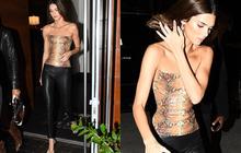 Dạo phố sang chảnh như Kendall Jenner: Gây sửng sốt vì body quá hoàn mỹ, áo bó chặt nhưng không lộ khuyết điểm