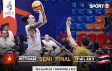 Đối đầu với Thái Lan, tuyển bóng rổ Việt Nam đứng trước cơ hội tạo nên thành tích chưa từng có trong lịch sử tham dự SEA Games