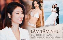 Lâm Tâm Như: Nổi loạn ngỗ ngược từ thuở 17, tính cách trái ngược với hình ảnh ngọt ngào và cuộc hôn nhân đầy thị phi