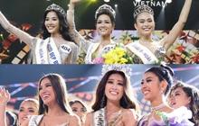 """Top 3 """"Hoa hậu Hoàn vũ VN 2017"""" toàn """"Next Top Model"""" thì 2 năm sau, sân chơi nhường lại cho """"Hoa khôi Áo dài"""""""