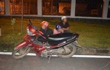 Dựng kịch bản bị cướp tài sản để gia đình cho mua xe máy