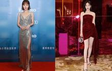 """Hai người đẹp phim Diên Hi Công Lược cùng hội ngộ tại thảm đỏ thời trang: Khí chất """"Hoàng hậu"""" vẫn hơn hẳn """"vợ lẽ"""""""