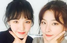 """Wendy đăng clip cover chơi chơi, Seulgi lập tức vào khen nức nở chuẩn bạn thân nhà người ta: """"Giọng hát hay nhất, đỉnh nhất của thời đại này"""""""