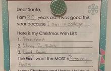 Lá thư gửi ông già Noel cười ra nước mắt của sinh viên đại học: Chỉ ước qua môn, chẳng cần kẹo bánh!