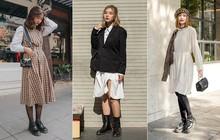 Street style 2 miền: miền Nam trẻ trung phá cách, miền Bắc dịu dàng nữ tính đậm chất Hàn Quốc