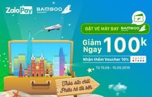 Bamboo Airways triển khai bán vé 25 đường bay trên ZaloPay với ưu đãi hấp dẫn