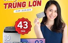 Hàng loạt khuyến mãi cho người dùng thẻ vay trong tháng 9