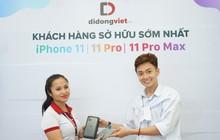 """""""Truyền Thái Y"""" - Ngô Kiến Huy trên tay iPhone 11 Pro Max Midnight tại Di Động Việt"""