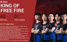 """King of Free Fire - Từ game thủ """"vô danh"""" đến sứ mệnh mang vinh quang về cho Việt Nam tại Chung Kết Thế Giới"""