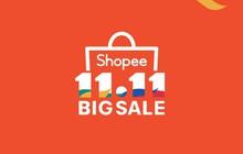 Nóng, Shopee 11.11 Siêu Sale chính thức trở lại
