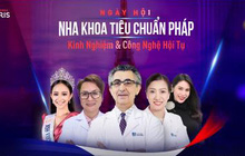 Ca sĩ Thuỷ Tiên, Hoa hậu thế giới người Việt Hương Trà hào hứng chia sẻ sự kiện Nha khoa tiêu chuẩn Pháp