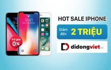 iPhone 7 Plus, 8 Plus và iPhone X đã có giá chỉ từ 7,3 triệu đồng