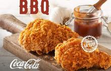 """Thưởng thức """"siêu phẩm"""" Gà Smoky BBQ chuẩn vị tại hệ thống Texas Chicken mùa cuối năm"""
