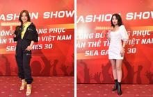 Bạn gái Văn Hậu xinh đẹp tại Fashion Show ra mắt trang phục Sea Games 30