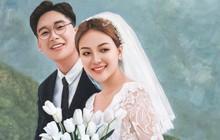 Ngất ngây với bộ tranh cưới vẽ tuyệt đẹp, ai sắp kết hôn thì vào xem nhé!
