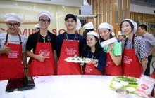 """115 """"nhà lãnh đạo trẻ châu Á"""" tìm hiểu ẩm thực, văn hóa Việt tại Ajinomoto Cooking Studio"""
