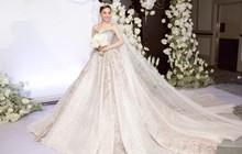 Ba mẫu váy cưới Hacchic Couture thực hiện cho Giang Hồng Ngọc kèm thông điệp ý nghĩa bất ngờ