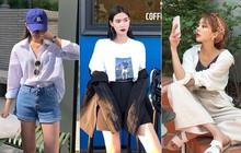 Street style hot girl bán hàng Hàn Quốc tuần qua: 10 cách lên đồ chụp OOTD siêu đẹp cho cuối tuần rong chơi