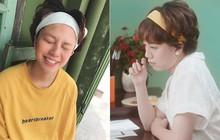 """Nhìn Ánh Dương đổi style điệu đà, netizen lại chỉ nhớ """"tomboyloichoi"""" cùng chiếc băng đô quen thuộc này"""