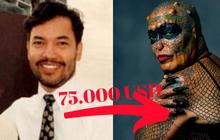 Cả đời tôn sùng loài rắn, phó chủ tịch ngân hàng quyết tâm làm giàu rồi chi 2 tỷ phẫu thuật thành 'nửa người nửa bò sát'