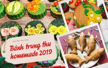 """Thị trường bánh Trung thu homemade 2019: Mẫu mã đẹp, giá cả không quá cao nên rất """"hút"""" người mua"""