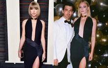 Không biết Joe Jonas sẽ nghĩ gì khi biết bà xã Sophie Turner diện lại váy 3 năm trước của tình cũ Taylor Swift?