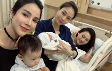 Khoe ảnh dành cả thanh xuân thăm hội bạn thân sinh em bé, Đàm Thu Trang khiến fan hối thúc: Bao giờ đến lượt chị?