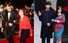 Gần như lần nào sánh bước bên nhau, Goo Hye Sun cũng ăn vận già hơn hẳn chồng trẻ, nới rộng thêm khoảng cách tuổi tác