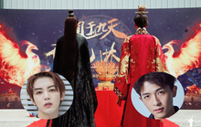 """Huyền thoại đam mĩ """"Phượng Vu Cửu Thiên"""" khai máy nhưng diễn viên ở đâu chỉ thấy 2 cái lưng thế này?"""