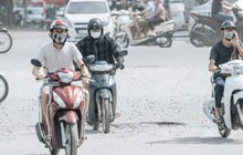Những đại công trường biến đường phố Hà Nội ngập trong sương bụi