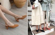 """4 mẫu giày tưởng """"lùn"""" mà lại vẫn hack dáng tôn chân, các nàng công sở không sắm ngay thì quá phí"""