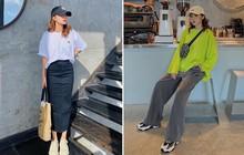 Instagram #OOTD tuần qua: chủ trương đơn giản là nhất, các cô nàng sành điệu mix đồ khoe eo hay giấu eo cũng đẹp hết nấc