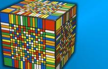 Xem máy tính xoay Rubik khổng lồ hoa cả mắt: 6 tỷ ô màu, cao ngang tòa Burj Khalifa, tốn 2706 tiếng để giải