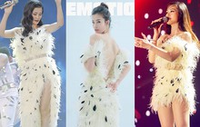 """Cắt ngắn váy cũ để mặc lại, Đông Nhi khiến các fan rôm rả: """"Chị bận tiết kiệm tiền để mua váy cưới đúng không"""""""