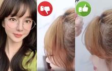 Gái Hàn luôn có tóc mái bồng bềnh tự nhiên cả ngày dài là nhờ một thủ thuật vô cùng đặc biệt