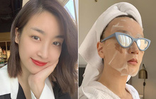 Hoa hậu Đỗ Mỹ Linh đắp mặt nạ giấy mỗi ngày, giúp cấp ẩm tốt hay chỉ khiến da quá tải?