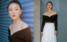 Hậu tin đồn cưới con gái tình địch Vương Phi, Châu Tấn khoe bộ ảnh mới sexy yểu điệu đến lạ