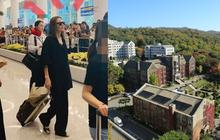 Angelina Jolie gây chú ý khi đưa Maddox đến Hàn chuẩn bị nhập học trường quyền lực: Choáng với dàn sao từng theo học!