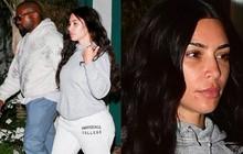 """Hiếm lắm """"thánh phông bạt"""" Kim Kardashian mới để mặt mộc 100% ra đường, có bao nhiêu khuyết điểm khoe ra bằng hết"""