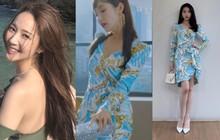 """Park Min Young đụng váy hàng hiệu với IU: Nhờ thân hình đầy đặn mà """"thư ký Kim"""" thắng đậm cô em về độ gợi cảm"""