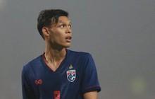 Sao trẻ từng đấm Đình Trọng bất ngờ được triệu tập lên đội tuyển Thái Lan chuẩn bị đấu Việt Nam