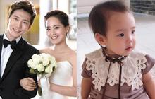 Con gái thứ hai của nữ thần Kpop thế hệ 1 Eugene và tài tử Ki Tae Young gây chú ý vì lộ mặt xinh như thiên thần