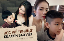 Choáng số tiền sao Việt đóng học phí cho con: Con trai Hồ Ngọc Hà trả 219 triệu/năm nhưng vẫn chưa là gì so với trường con trai Lệ Quyên