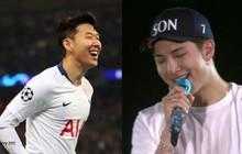 Ngôi sao bóng đá Son Heung Min lần đầu bày tỏ sự hâm mộ và gửi lời cảm ơn tới BTS