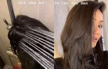 Tưởng đội tóc giả thì nhàn nhưng H'Hen Niê thậm chí còn mất sức hơn cả hồi để tóc tém nữa