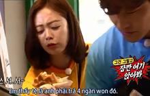 """Running Man: Hóa ra cách tiết kiệm của Jeon So Min là... """"đu bám"""" để Kim Jong Kook trả tiền mọi thứ!"""