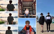 """Đã lâu rồi fan mới thấy BTS có kỳ nghỉ """"healthy và balance"""" đến vậy, bất ngờ nhất là phát hiện ra năng khiếu mới của Jin"""