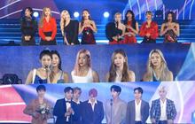 """Soribada 2019 ngày 1: Tất cả nghệ sĩ YG và SM nhận giải """"tay trắng"""", TWICE ẵm Daesang và loạt giải thưởng trên trời dưới đất không hiểu đâu ra"""